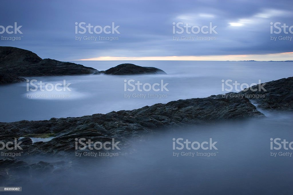 Rompere le onde 3 foto stock royalty-free