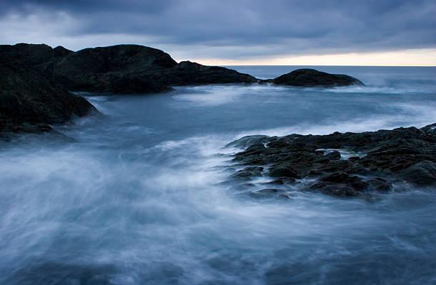 Breaking waves 4. stock photo