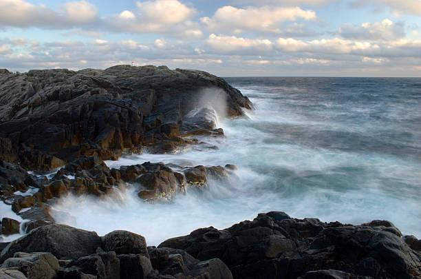 Breaking waves 5. stock photo