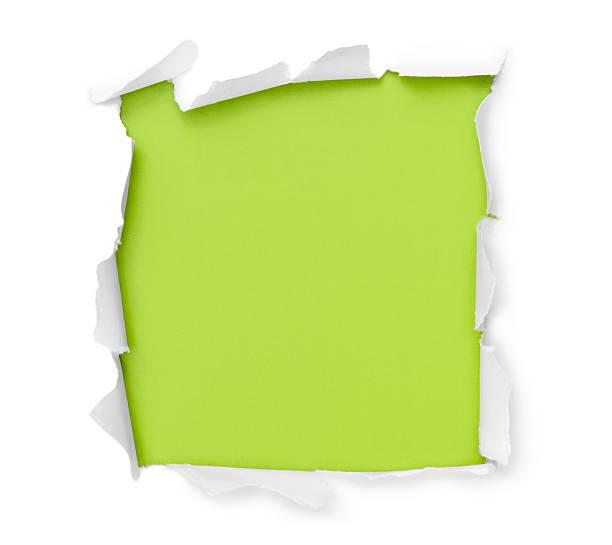 Durchbruch Papier square – Foto