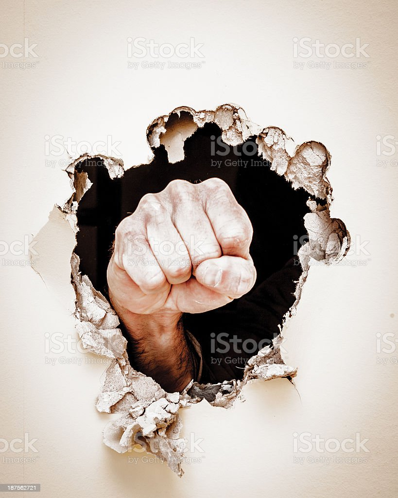 Breakthrough stock photo