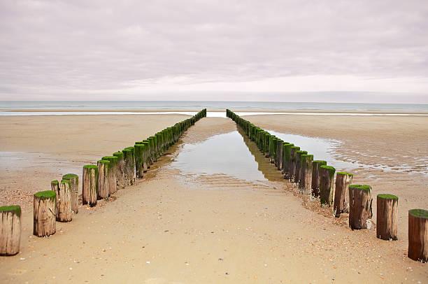 breakwater stock photo