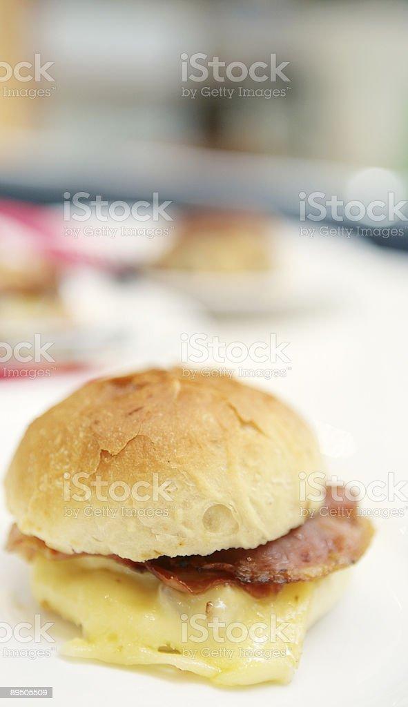 Breaky Burger photo libre de droits