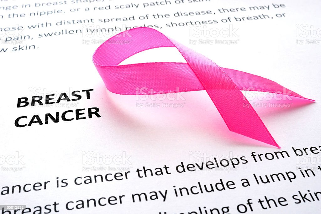 Brustkrebs und pink ribbon – Foto