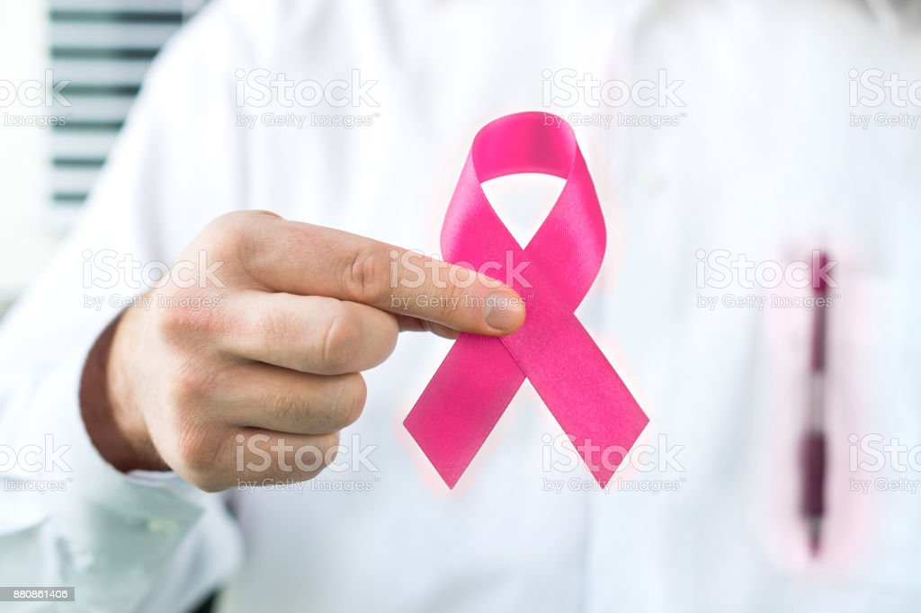 Breast cancer awareness Konzept. – Foto