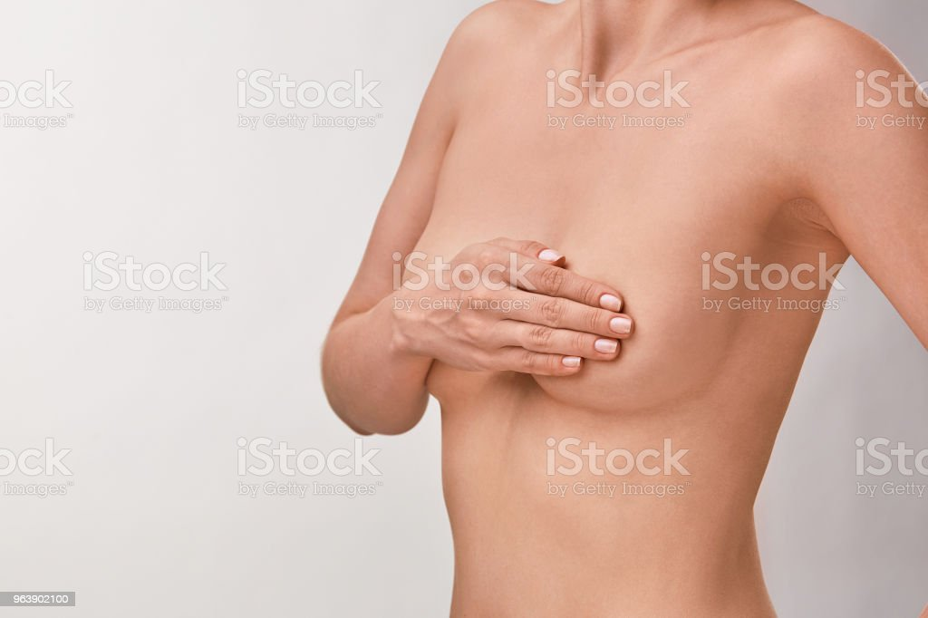 Breast cancer awareness. - Royalty-free Adult Stock Photo