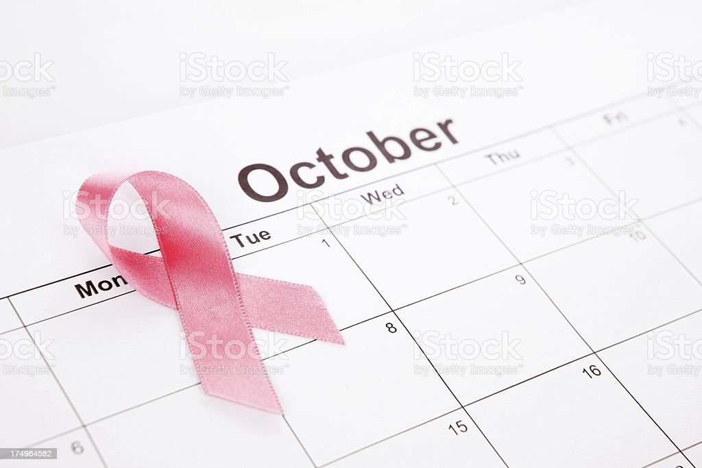 Breast Cancer Month royalty-free stock photo