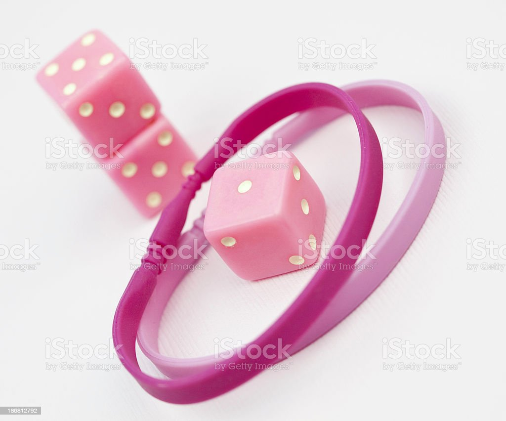 Breast Cancer Odds royalty-free stock photo