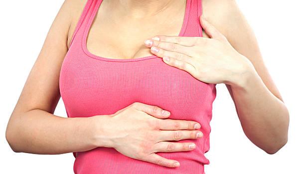 esame del seno - seno foto e immagini stock