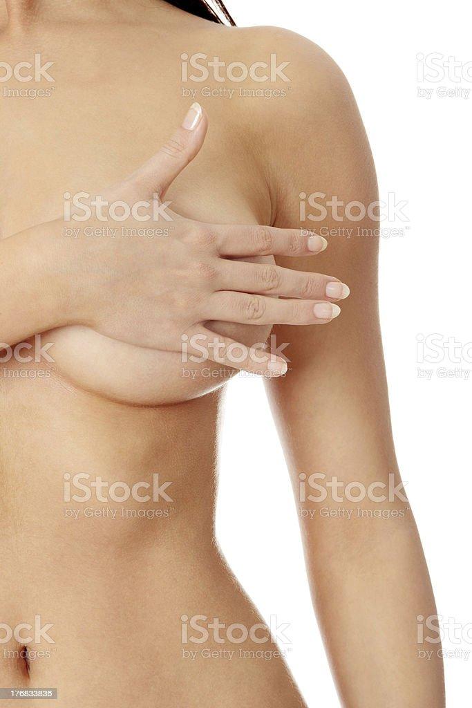 Breast royalty-free stock photo