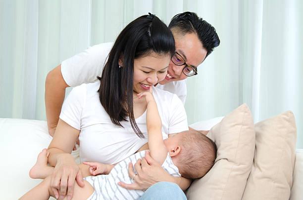 breastfeeding stok fotoğrafı