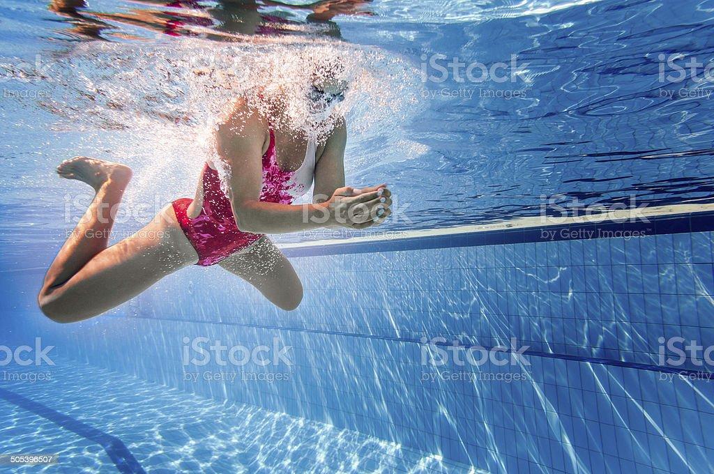 Brustschwimmen Schwimmen – Foto