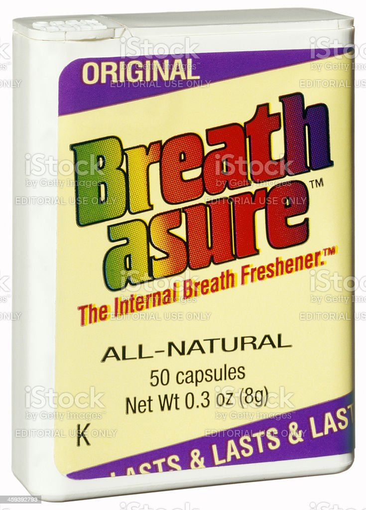 Breath Freshener stock photo