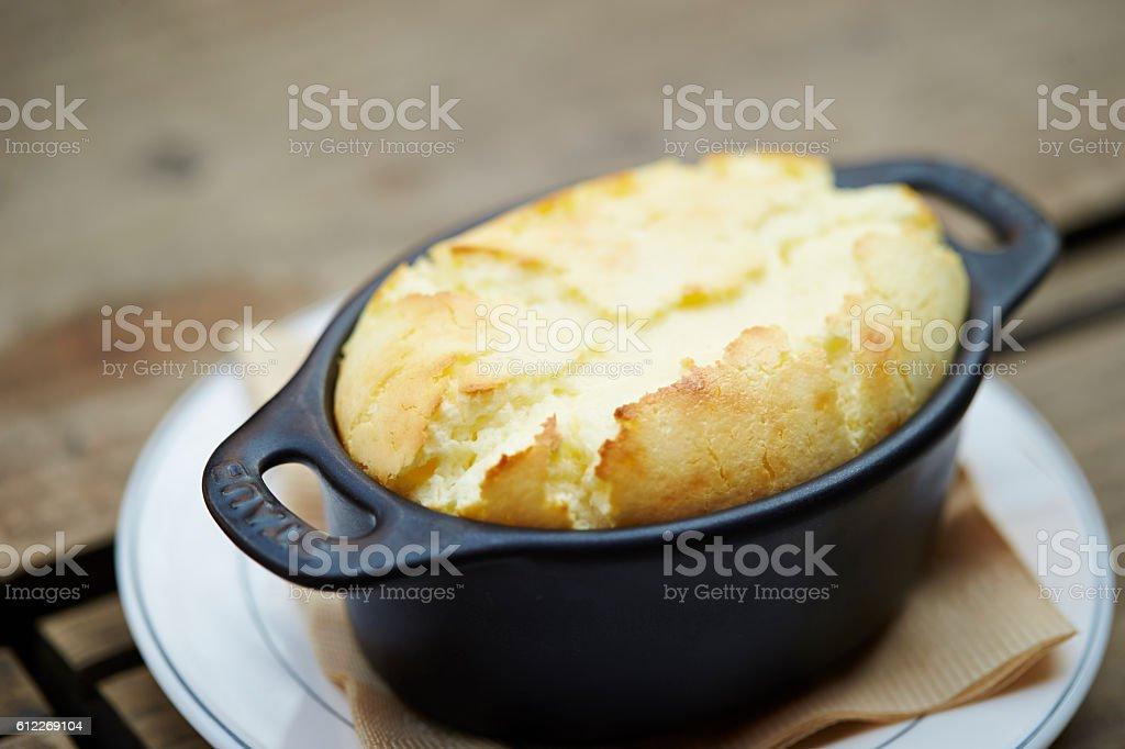 Souffle stock photo