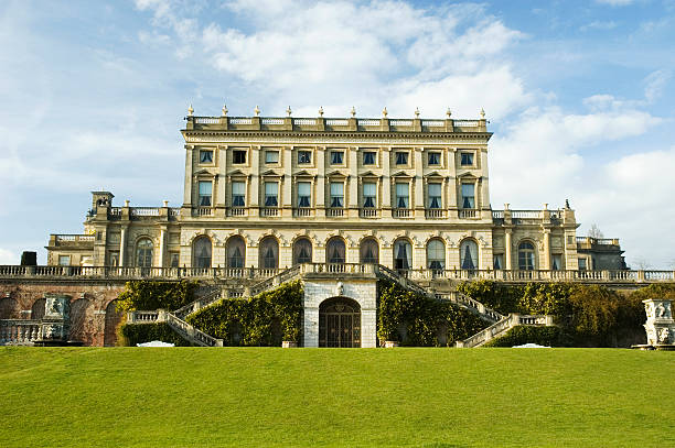 A breath taking view of Cliveden House in England Old country house buckinghamshire stock pictures, royalty-free photos & images