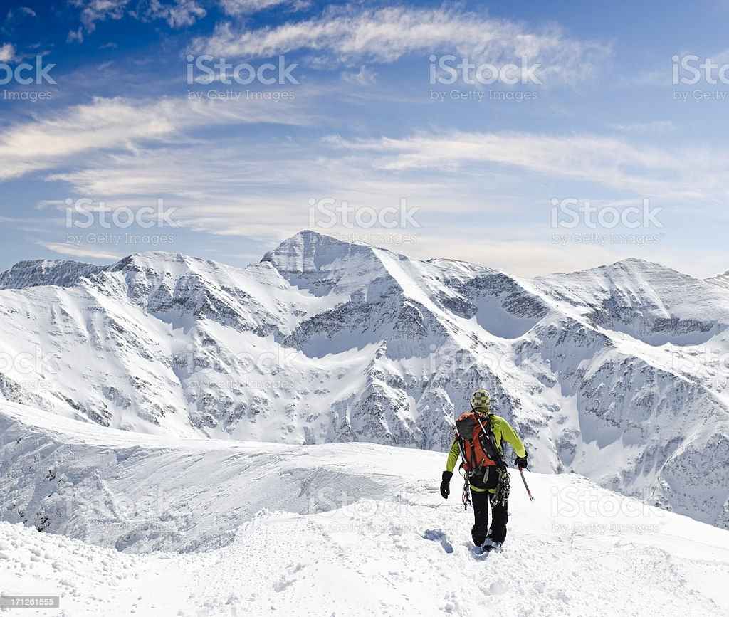 breath taking winter landscape royalty-free stock photo