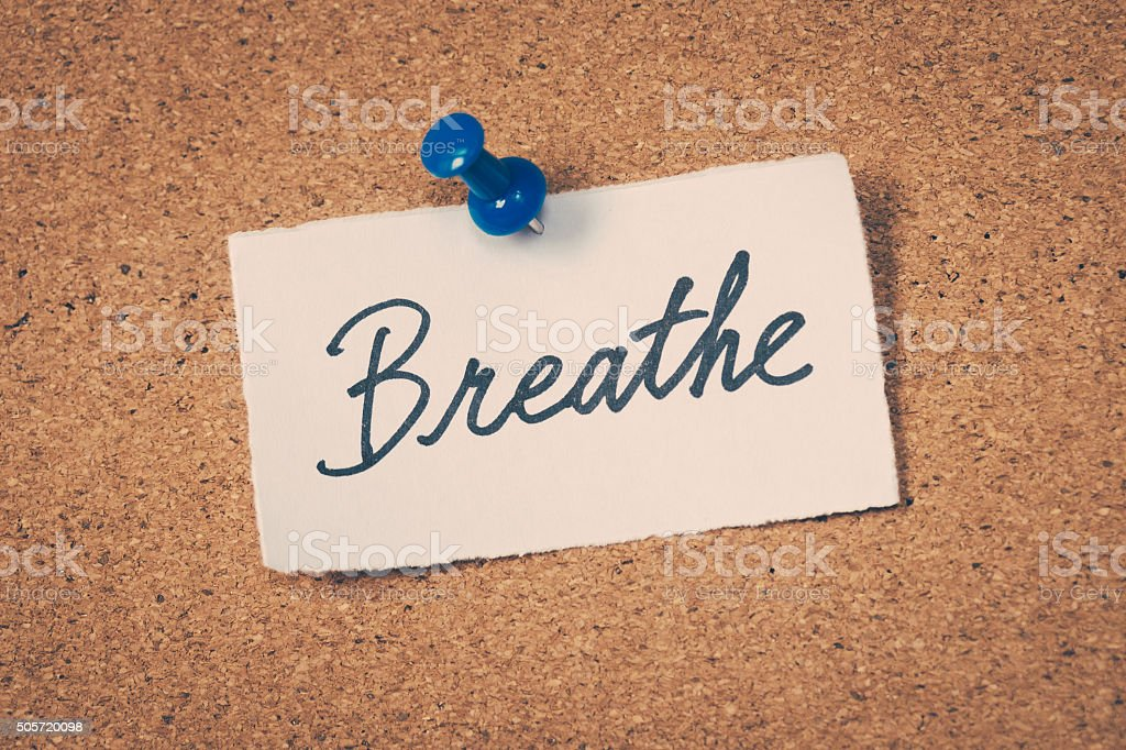 Breathe - foto stock