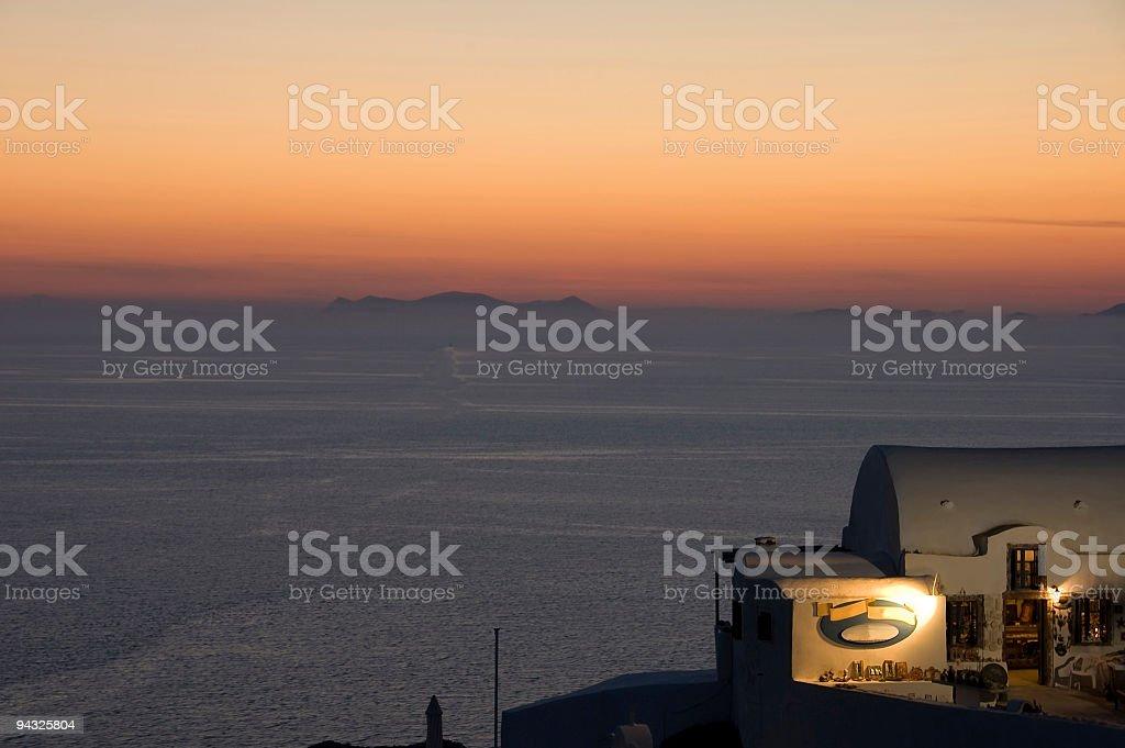 breathtaking Crete island stock photo