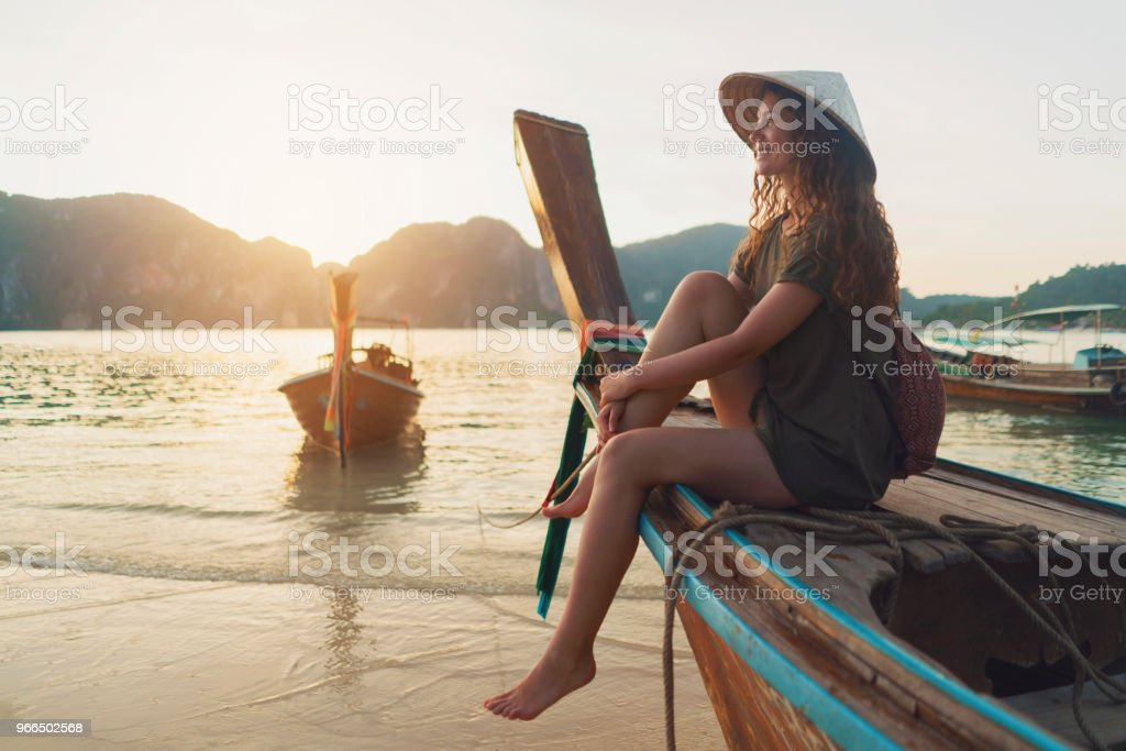 Breathtaking Destinations - Foto stock royalty-free di Adulto