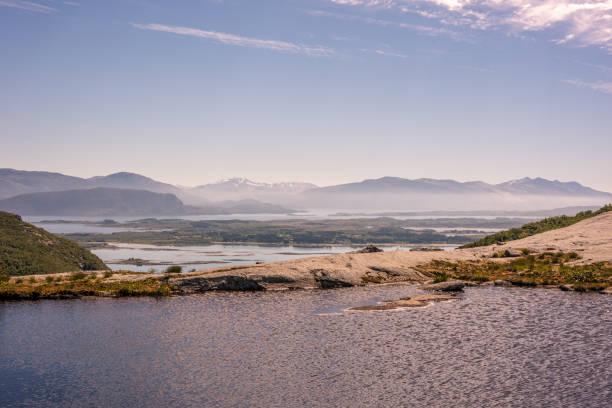 Atemberaubende ländliche Berglandschaft – Foto
