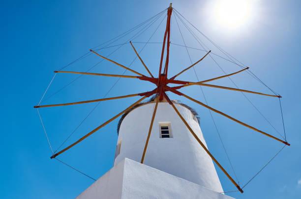 Atemberaubenden Blick auf die Windmühle – Foto