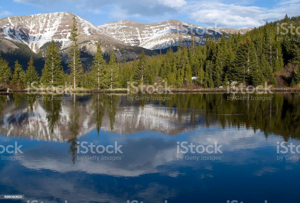 Breckenridge Colorado Landscape stock photo