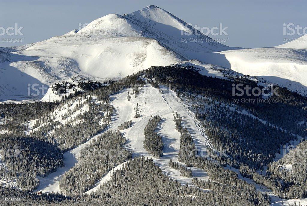 Breckenridge, Colorado, Peak Ten stock photo