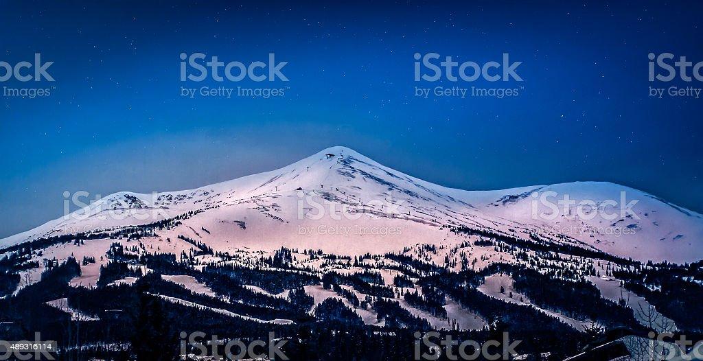 Breckenridge Colorado stock photo