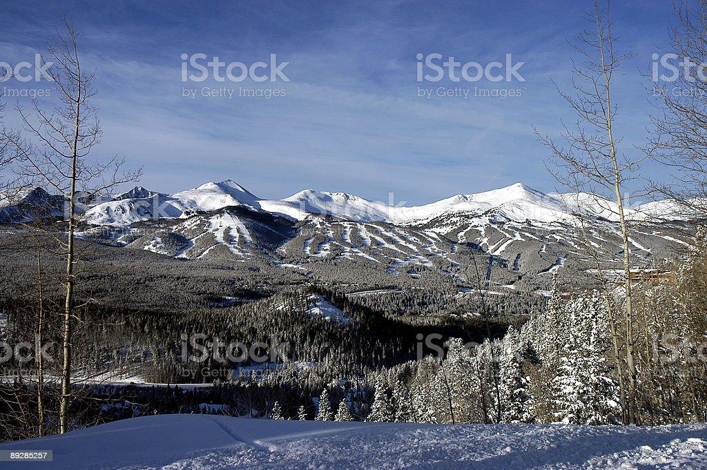 Breckenridge, Colorado stock photo