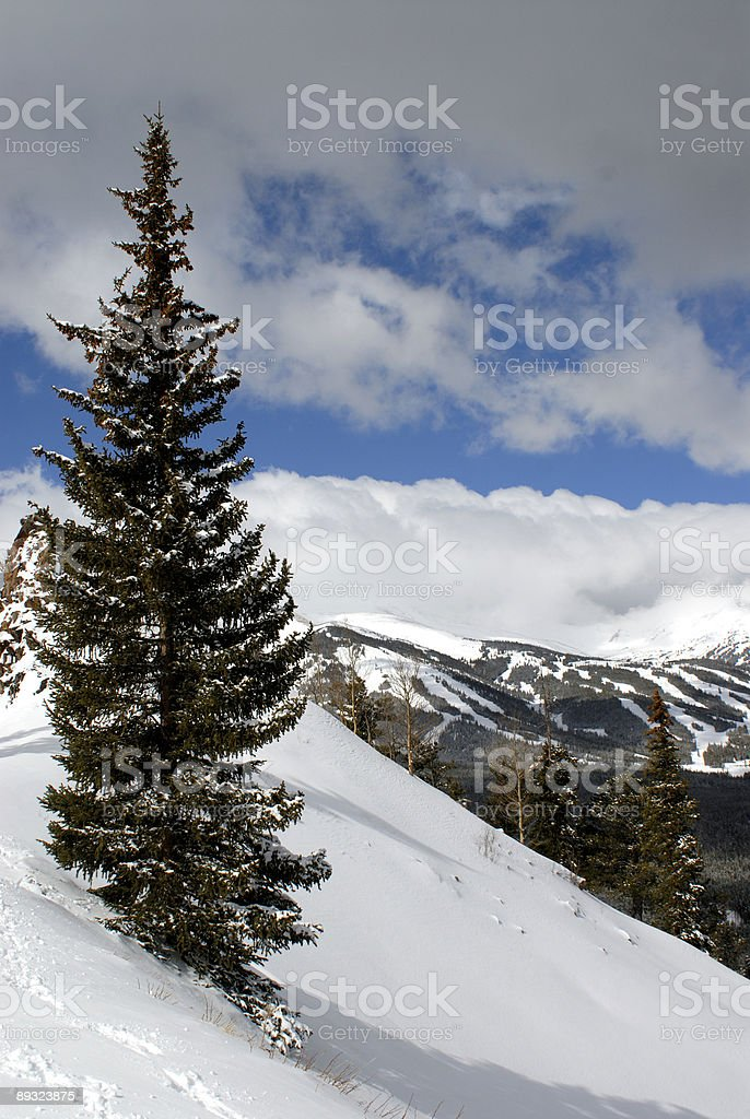 Breckenridge Ski Area stock photo