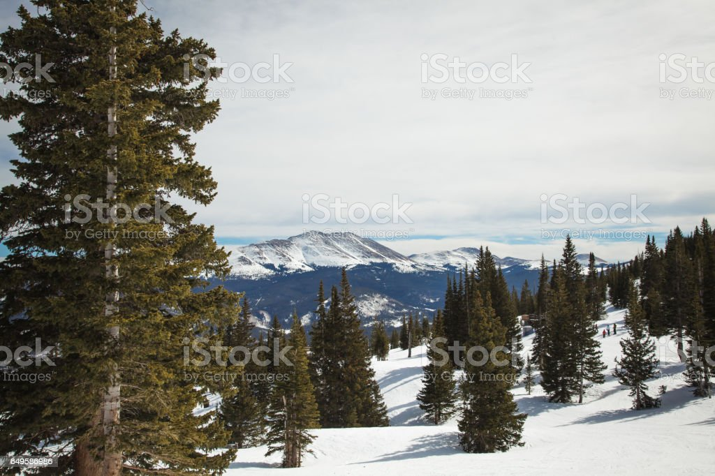 Breckenridge Views stock photo