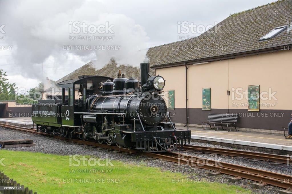 Brecon Mountain Railway,Wales,UK stock photo