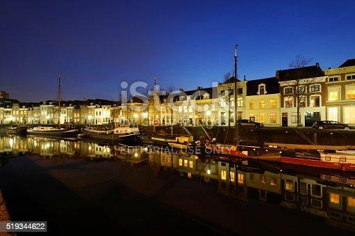 istock Brede Haven Canal in 's-Hertogenbosch 519344622