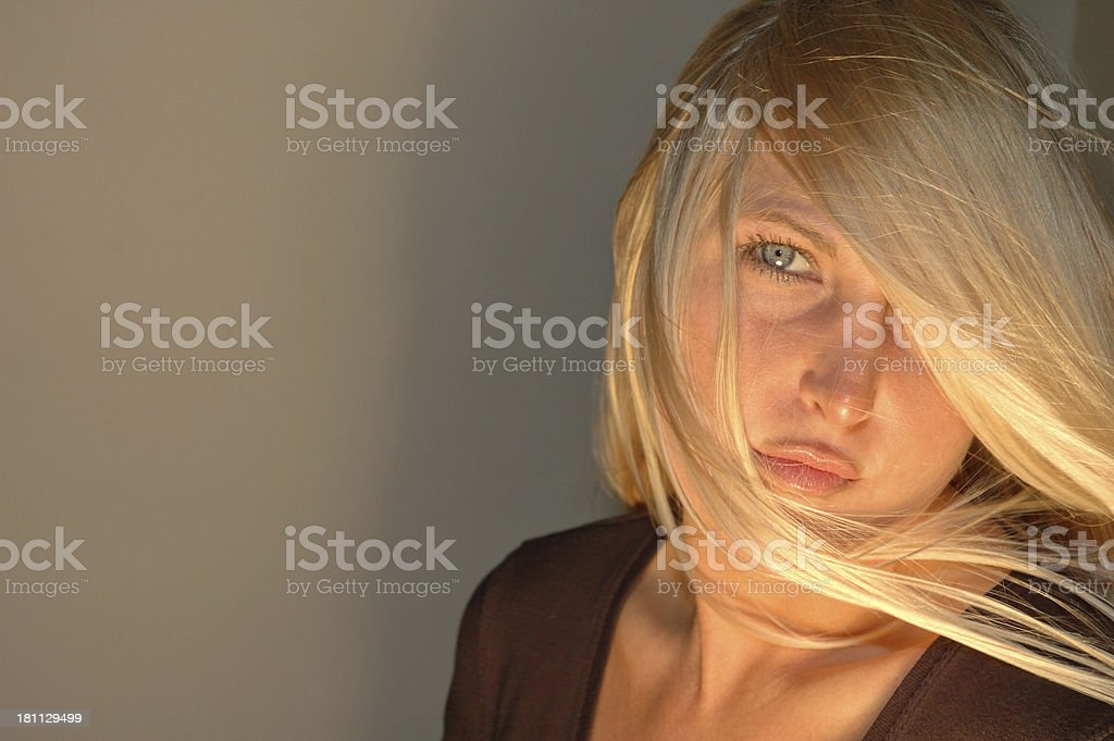 Breeze from the left royalty-free stock photo
