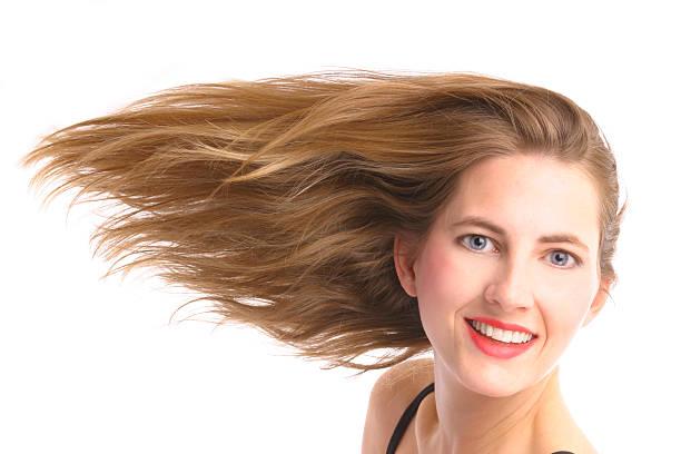 perfekte haar - frisuren für schulterlanges haar stock-fotos und bilder
