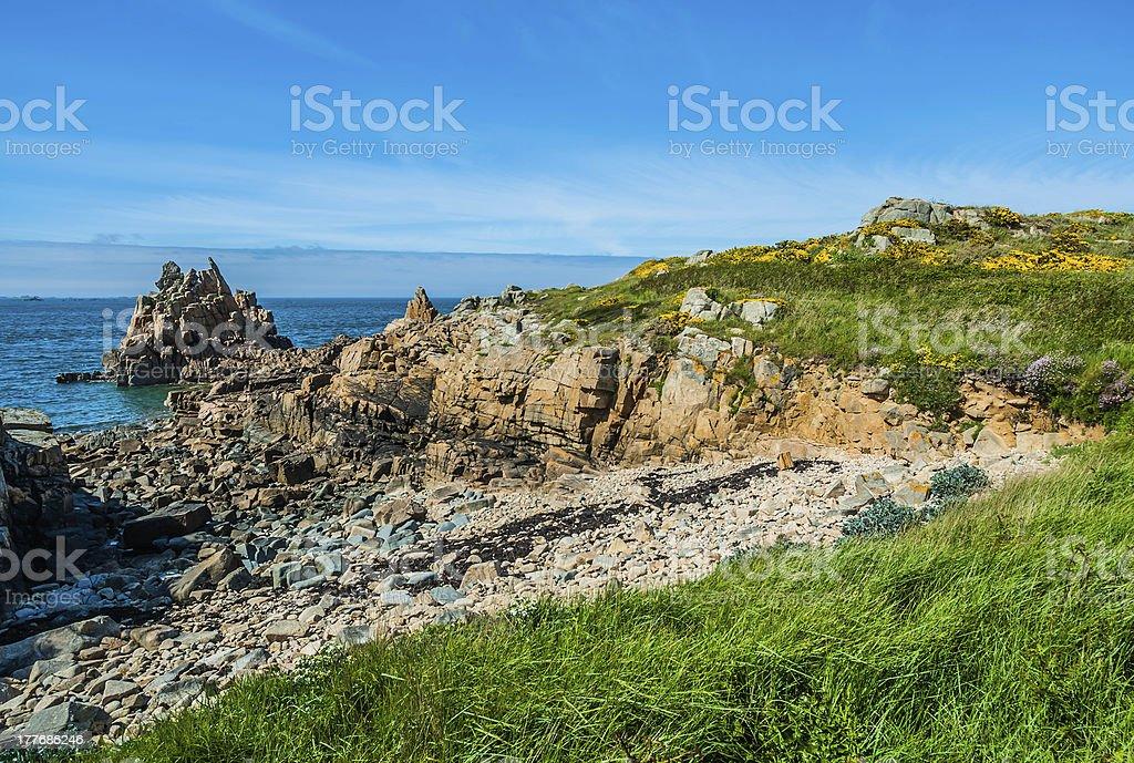 Brehat island france royalty-free stock photo