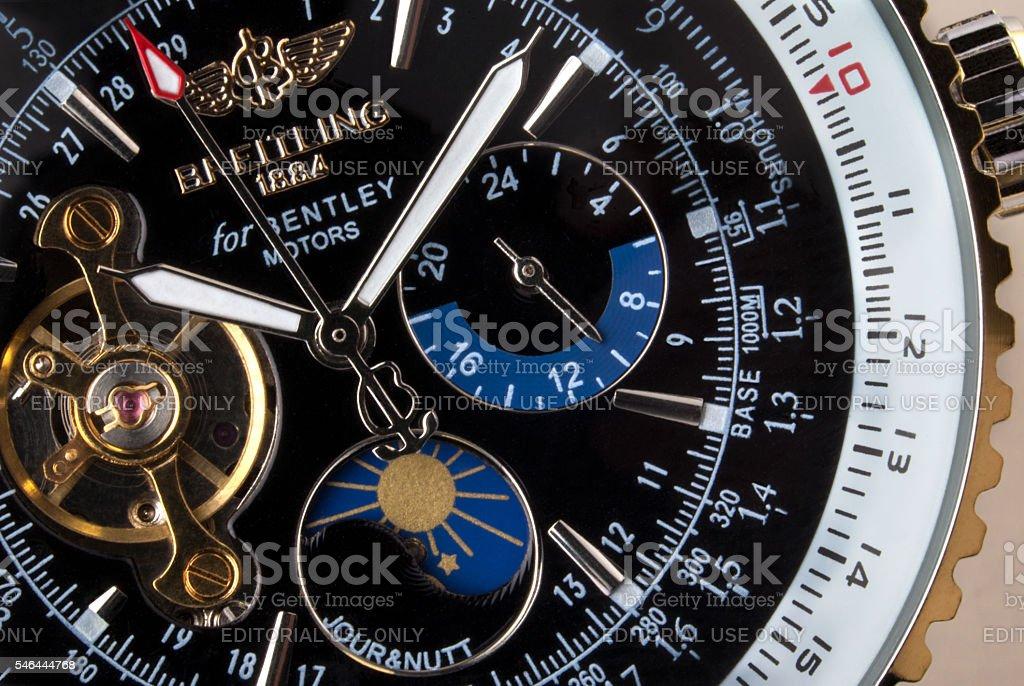 Breitling Chronograph stock photo