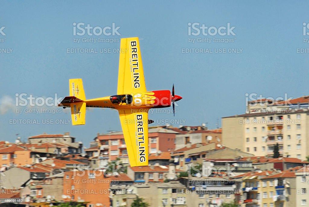 Breitling Team, Redbull Air Race, Istanbul 2006 stock photo