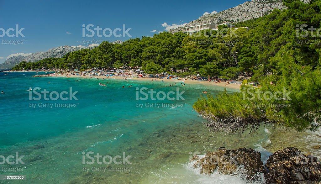 Strand Brela, Kroatien – Foto