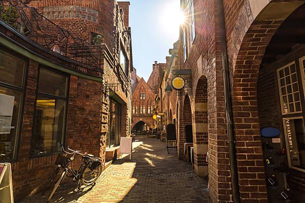 Bremen Böttcherstreet stock photo