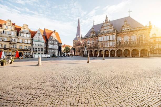 Bremen city in Germany stock photo