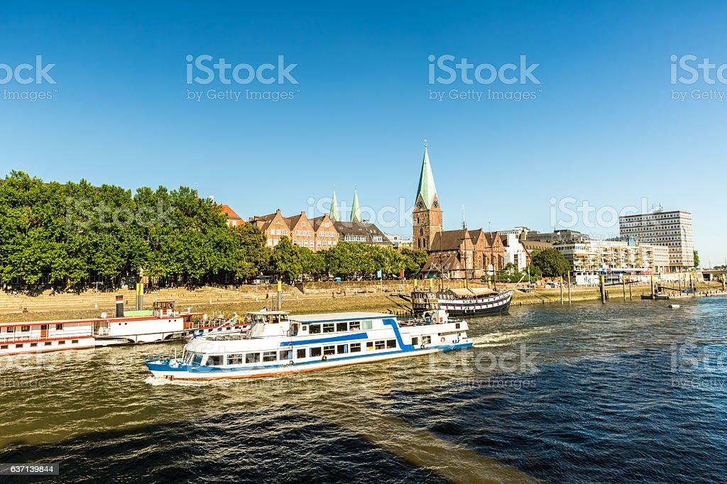 Bremen en Alemania - foto de stock
