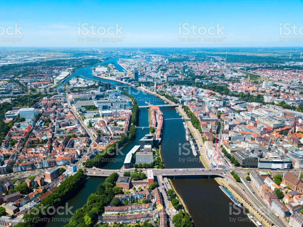 Alte Stadt-Luftbild Bremen – Foto