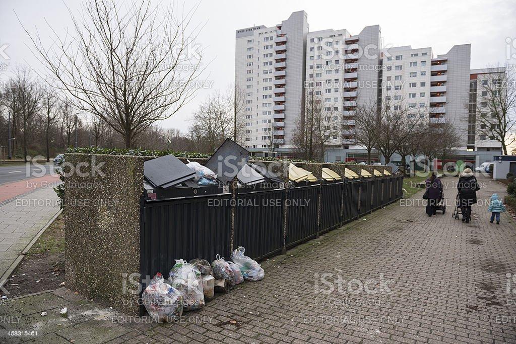 Bremen Tenever Osterholz stock photo