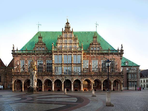 Bremen Town Hall stock photo