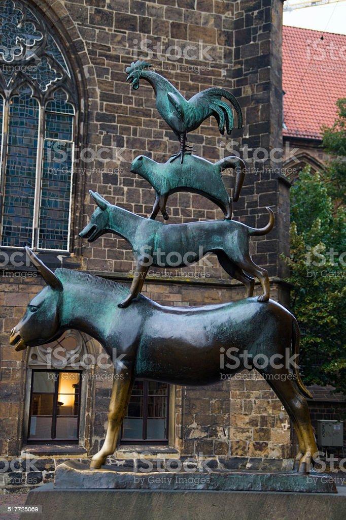 Bremen Stadt Musikern 2 – Foto