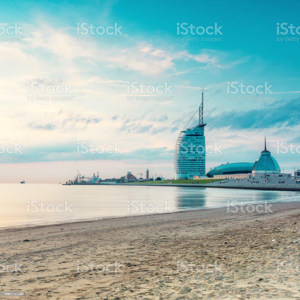 Photo libre de droit de Plage De Bremerhaven banque d
