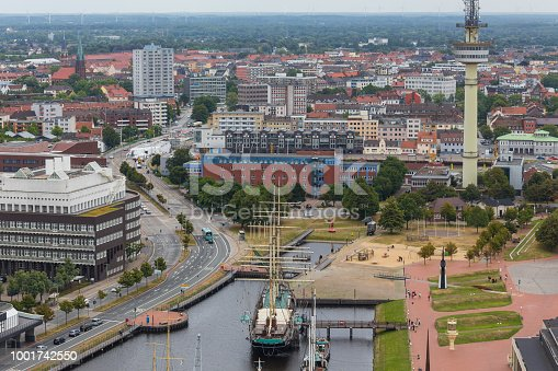 istock bremerhaven cityscape germany from above 1001742550
