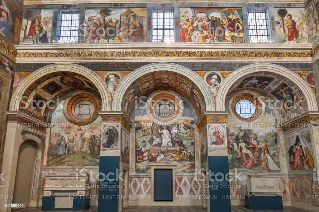Brescia, Coro delle Monache - Italy - foto stock