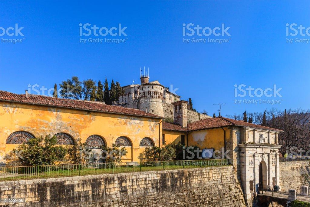 Brescia, the Castle - Italy - foto stock